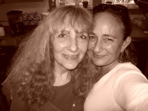 Sherry Katz with her daughter
